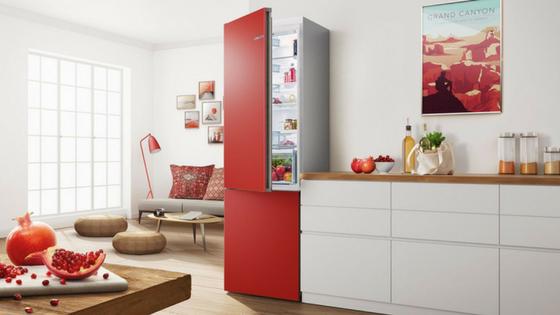 Der Erste Kühlschrank, Der Seine Farbe ändern Kann: Handel Wählt Bosch  Vario Style Zur U201eTop 10 Techniku201c 2017