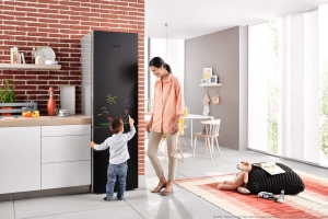 Kühlschrank mit zwei Personen